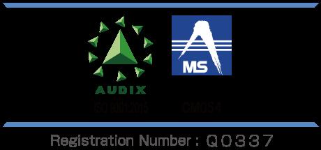 Registration Number of ISO