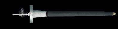 Probe for plasma heating device