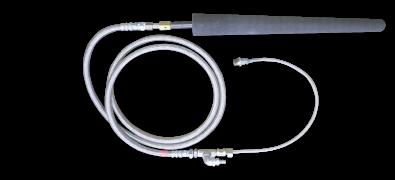 Wall mounted type probe