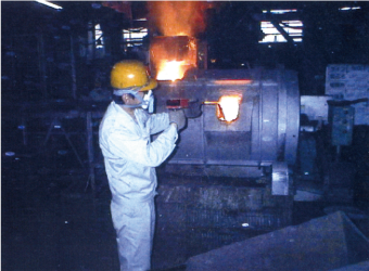 The in-furnace temperature measurement JT2-LAB image