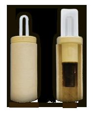消耗型熱電対スプラッシュ防止タイプ